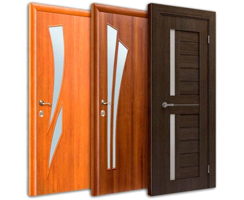высота дверей ширина толщина двери с коробкой размеры